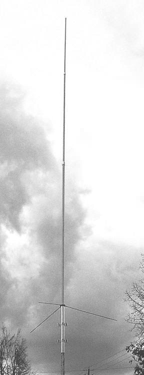 MFJ-1516 2m Base Antenna 4.5m SO-239