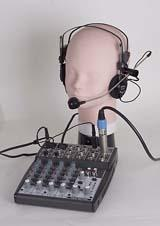 WATSON W-184MX-I Combined Headset & Mixer for 8pin round