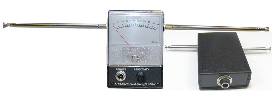 MFJ-802BX Field Strength with Remote Meter Combo