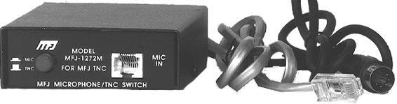 MFJ-1272BZ TNC/Mic Switch PK-88