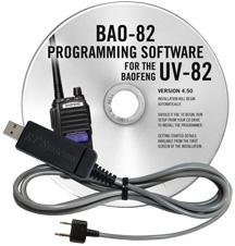 BAO-82 Programming Software and USB-K4Y cable for the  Baofeng\P
