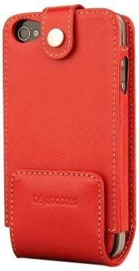 Beyza Case iPhone 4 4S Multiflip Leather Red