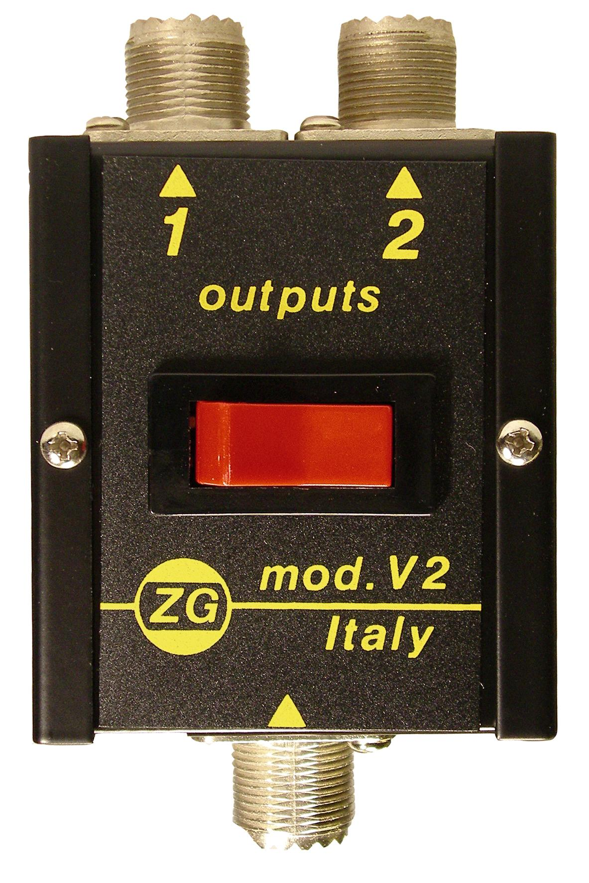 Zetagi V2 Antenna Switch with 500 Watts Handling Power
