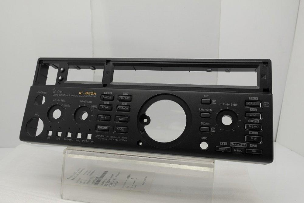 Icom IC-820H Front Panel Without Window Plate