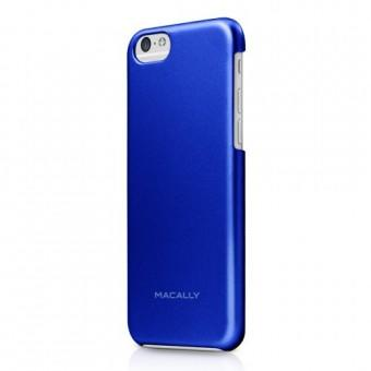 Macally Case iPhone 6 AlumSnap Blue Metallic