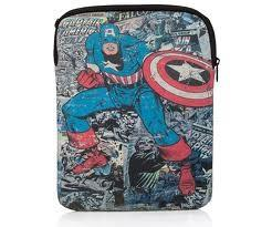"PDP CASE 10"" TABLET/IPAD MARVEL CAPTAIN AMERICA"