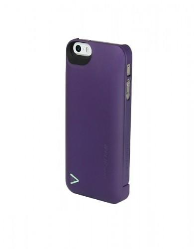 Boostcase 2200mAh Hybrid Power Case for iPhone5 - Purple