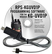 RPS-KGUVD1P Programming Software and USB-K4Y cable for the Wouxu