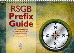 RSGB Prefix Guide NEW 12th Edition  by Fred Handscombe, G4BWP