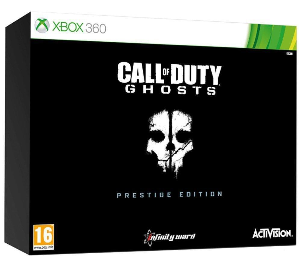 Call of Duty Ghosts Exclusive Prestige Edition Xbox 360