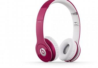 Beats Headphone iPhone iPod Solo HD Pink And White
