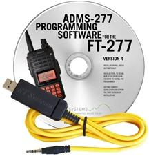 ADMS-277 Programming Software and USB-57B cable for Yaesu FT-277