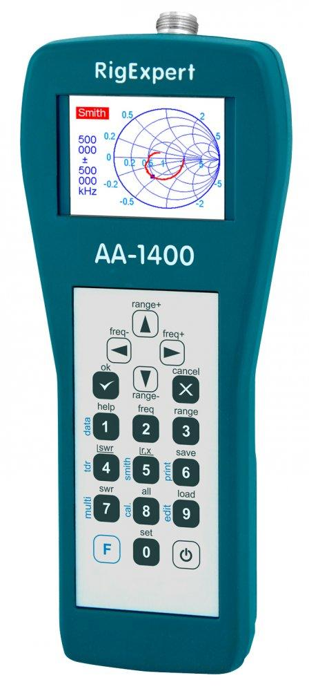 RigExpert AA-1400 0.1 - 1400 MHz Antenna Analyzer