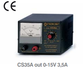 Microset CS35A 3.5Amp 0-15V Linear Power Supply