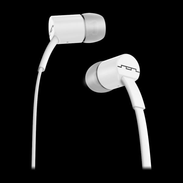 Jax In-Ear-1-Button Headphones White