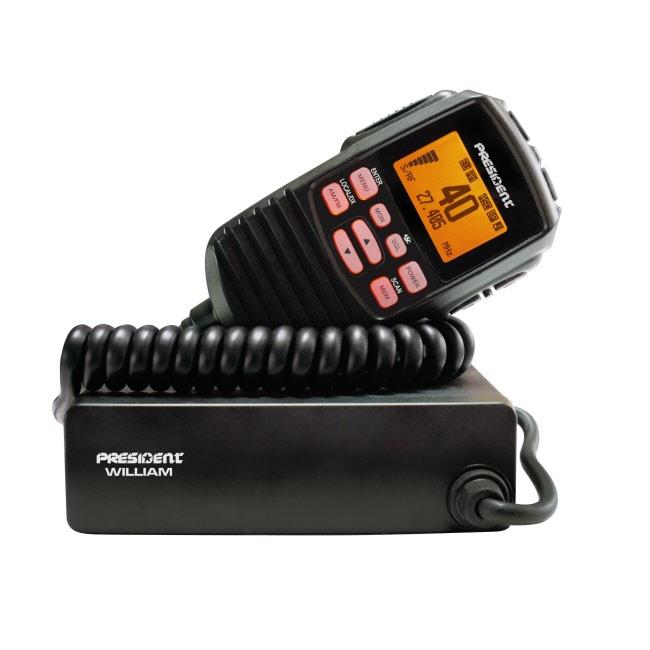 President William Mobile CB Radio - All European Norms