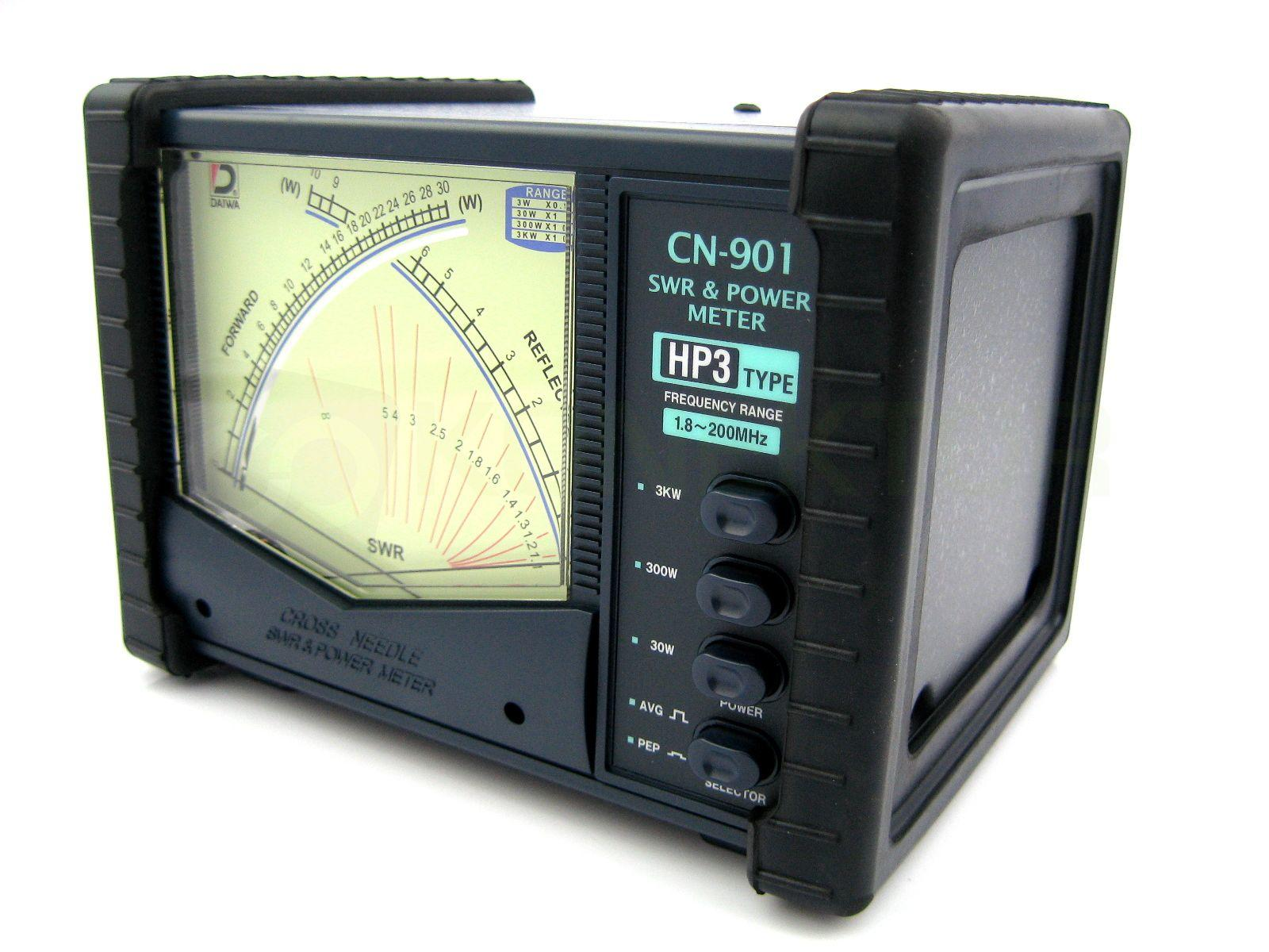 Daiwa CN901-HP3  Higher power 3kw 1.8-200MHz Power/SWR meter