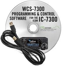 WCS-7300 Programming Software and RT-42 USB-A to USB-B cable for