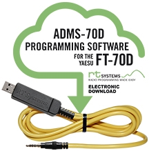 Programming Software and USB-57B cable for Yaesu FT-70D
