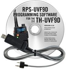 RPS-UVF9D Programming Software and USB-K4Y cable for the TYT TH-