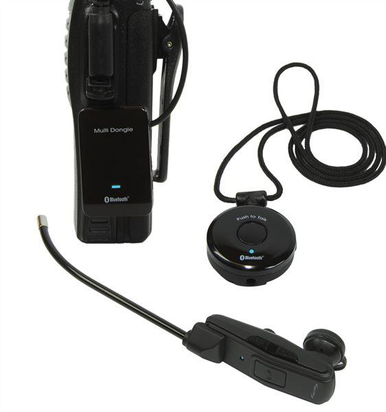 DELUXE 3-PIECE BLUETOOTH HEADSET KIT FOR ICOM /STANDARD