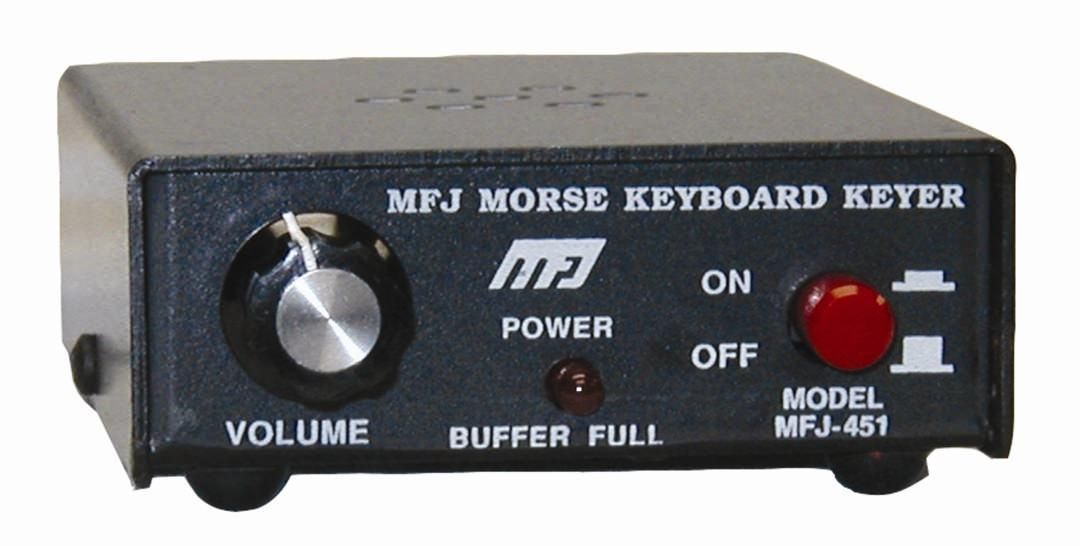 MFJ-451X Morse Interface (no keyboard)
