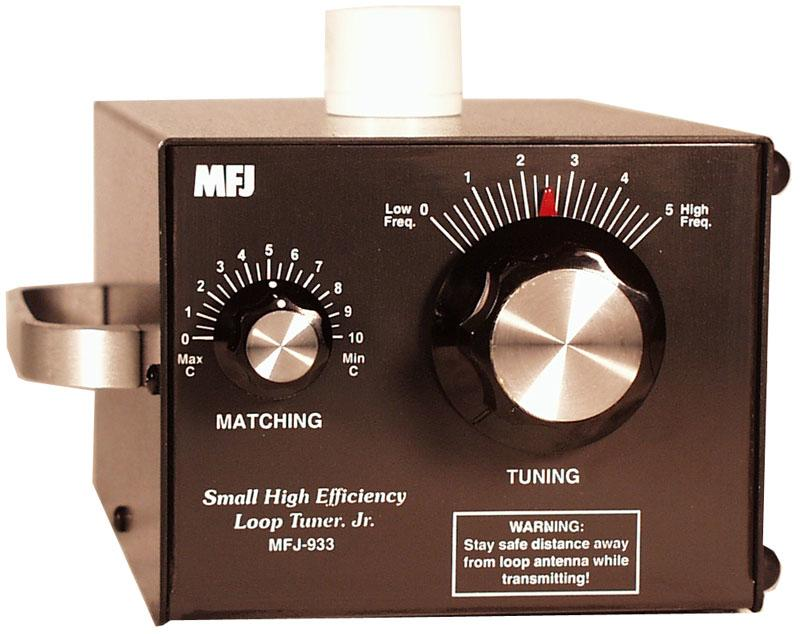 MFJ-933 Small High Efficiency Loop Tuner, Jr.