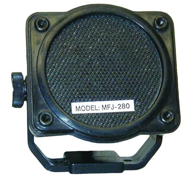 MFJ-280 Mobile Extension Speaker with magnetic swivel base 3W 8/