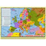 LOCS-MAP European Locator Map Desk A4 Full Colour