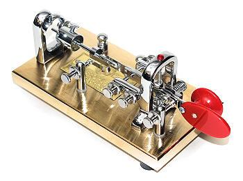 V-OGBK Vibroplex Original Gold Bug Key entire Base is 24K Gold C