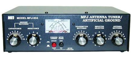 MFJ-934 Combined Artificial Earth & ATU