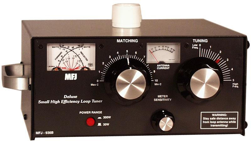 MFJ-936B Deluxe Small Loop Tuner