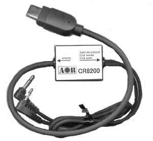 AOR CR-8200 Tape Recorder Lead