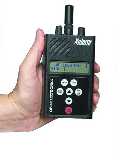 XPLORER Optoelectronics Test Receiver, Nearfield Sweeper
