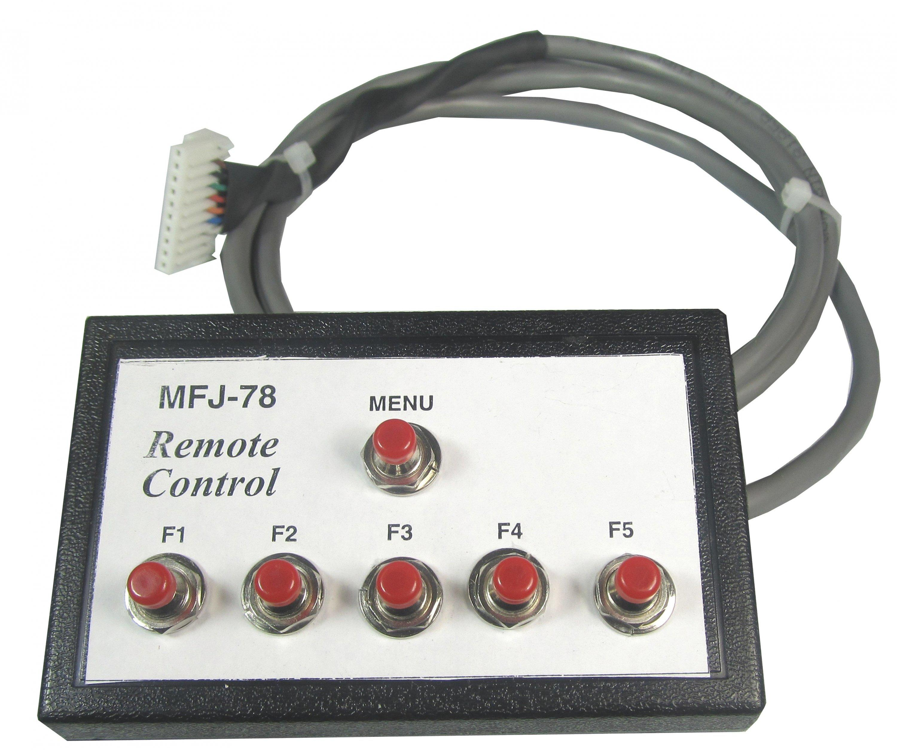 MFJ-78 Full Function Remote Control for MFJ-492