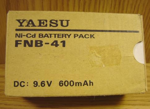 Yaesu FNB-41 Battery pack suitable for FT-50R, FT-10R, FT-40R