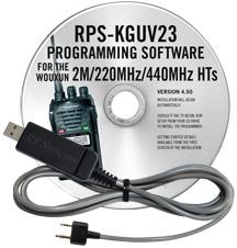 RPS-KGUV23 Programming Software and USB-K4Y cable  for the Wouxu