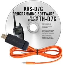 KRS-D7G Programming Software and USB-82 for the Kenwood TH-D7G