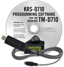 KRS-D710 Programming Software and USB-K5G for the Kenwood TM-D71