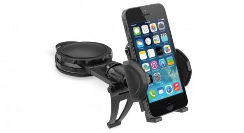 Macally Fully Adjustable Car Dashboard Mount Phone Holder