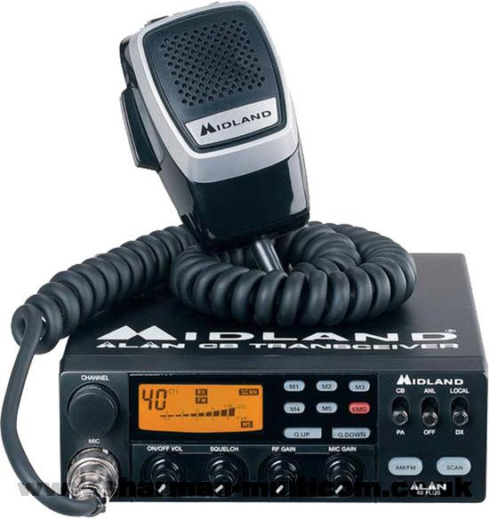 Midland Alan 48 Plus Multi Standard CB Radio