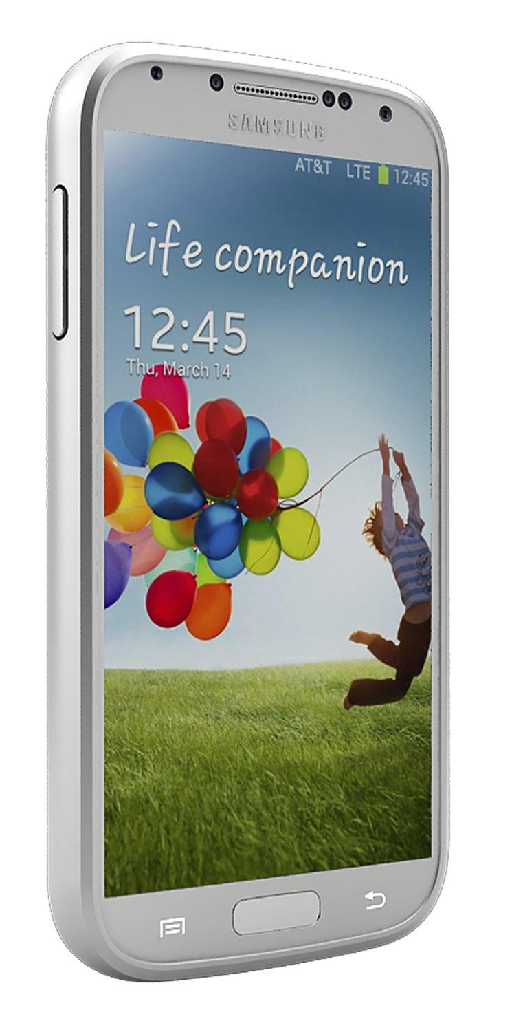 uNu - Unity Series for Samsung Galaxy S4 Silver - External Batte