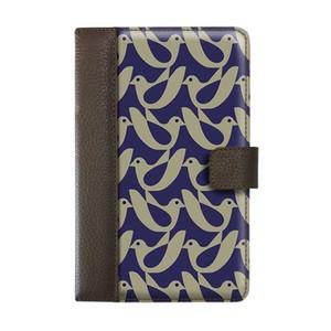 Orla Kiely Book Case Kindle Fire - Birdwatch Cream/Navy