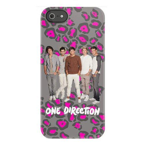 One Direction Snap On Leopard Print Pattern iPhone 4/4S