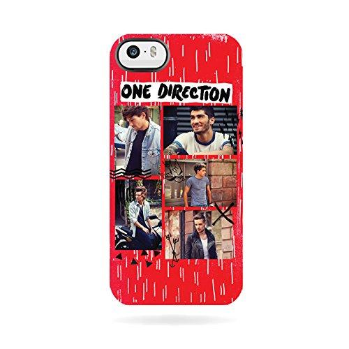 One Direction Snap On Red iPhone 4/4S