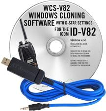 WCS-V82 Programming Software and USB-29A for the Icom IC-V82