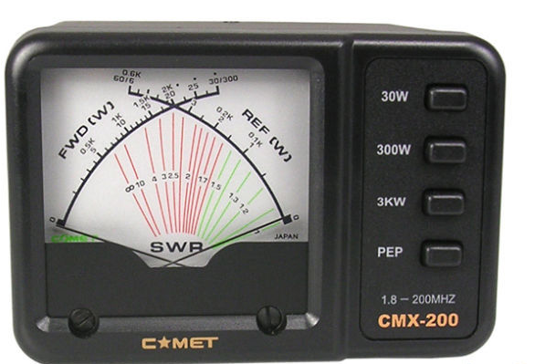 COMET CMX200 1.8-200MHz SWR/Power Meter 3kW Power