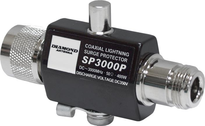 Diamond SP-3000P Lightning surge arrester DC-3000 MHz 400W PEP ""