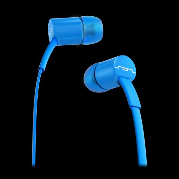 Jax In-Ear-1-Button Headphones Electro Blue