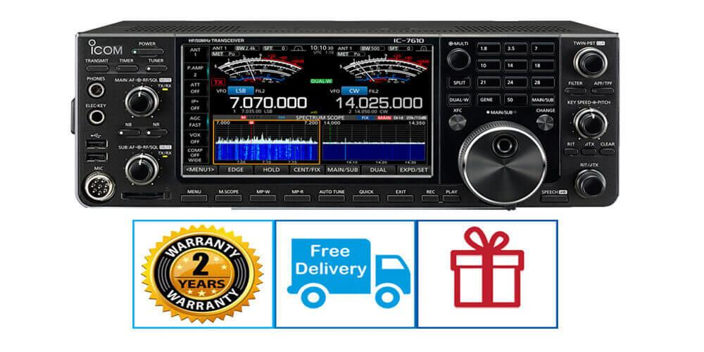 Icom IC-7610 | deal  | FREE | SM-30 & headphones